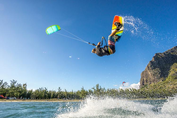 What is kitesurfing