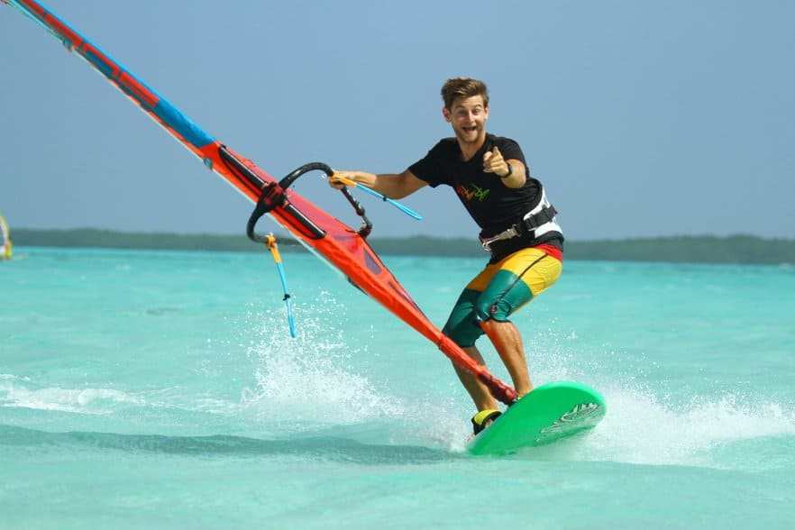 How to learn windsurfing