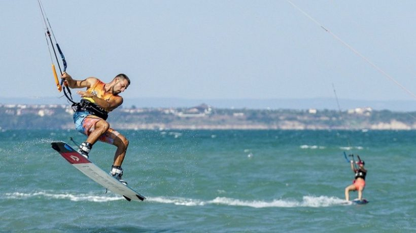 What is a kitesurfing harness and what is it for?