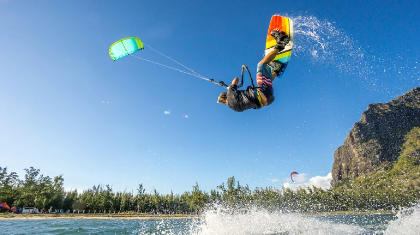 What is kitesurfing and how it is invented?